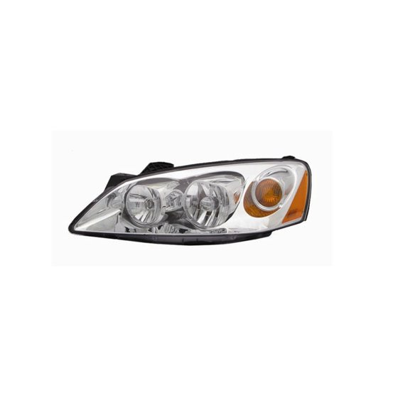 Replacement Driver Side Headlight For 05 09 Pontiac G6 Gm2502255