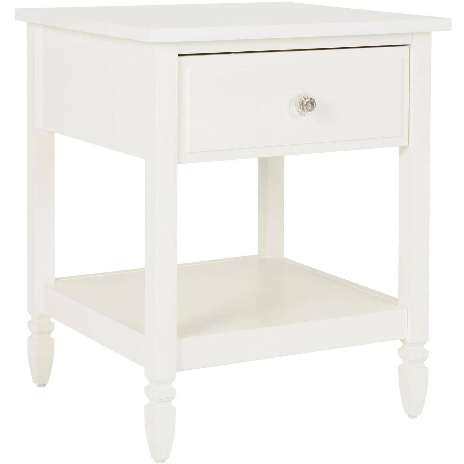 Better Homes and Gardens Lillian Nightstand, White by Dorel Asia