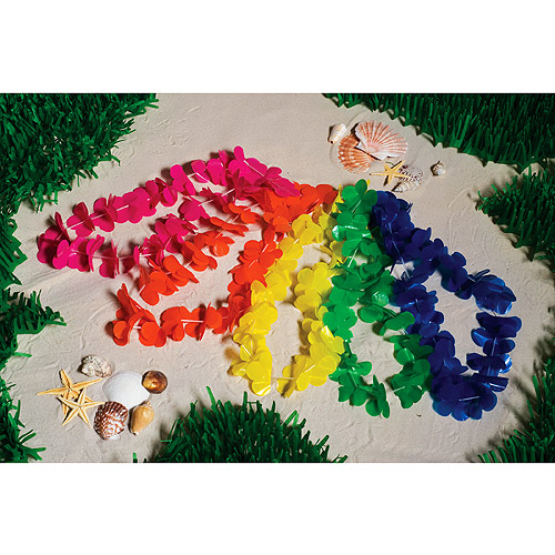 Pacific Sunset Leis, Pack of 100