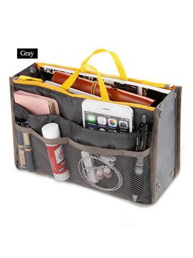 56c8b422aa Women Pocket Large Travel Insert Handbag Tote Organizer Tidy Bag Purse Pouch