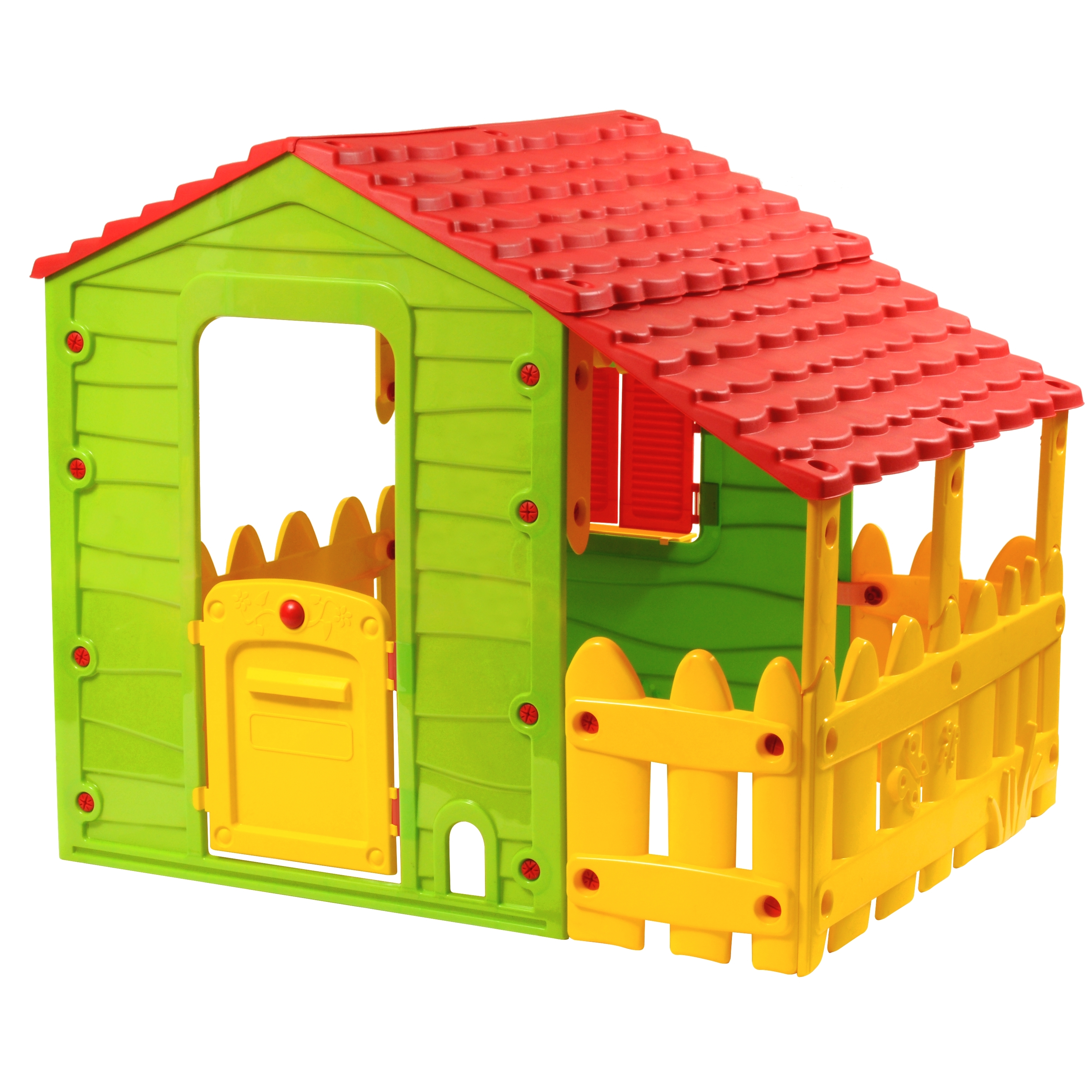 Farm Playhouse with One Side Porch by Starplast