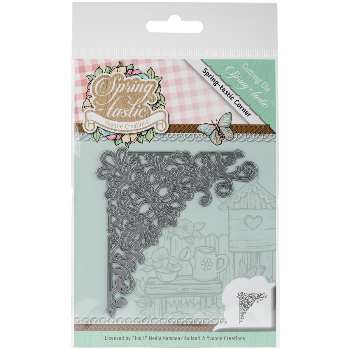 Find It Trading Yvonne Creations Springtastic Die-Corner