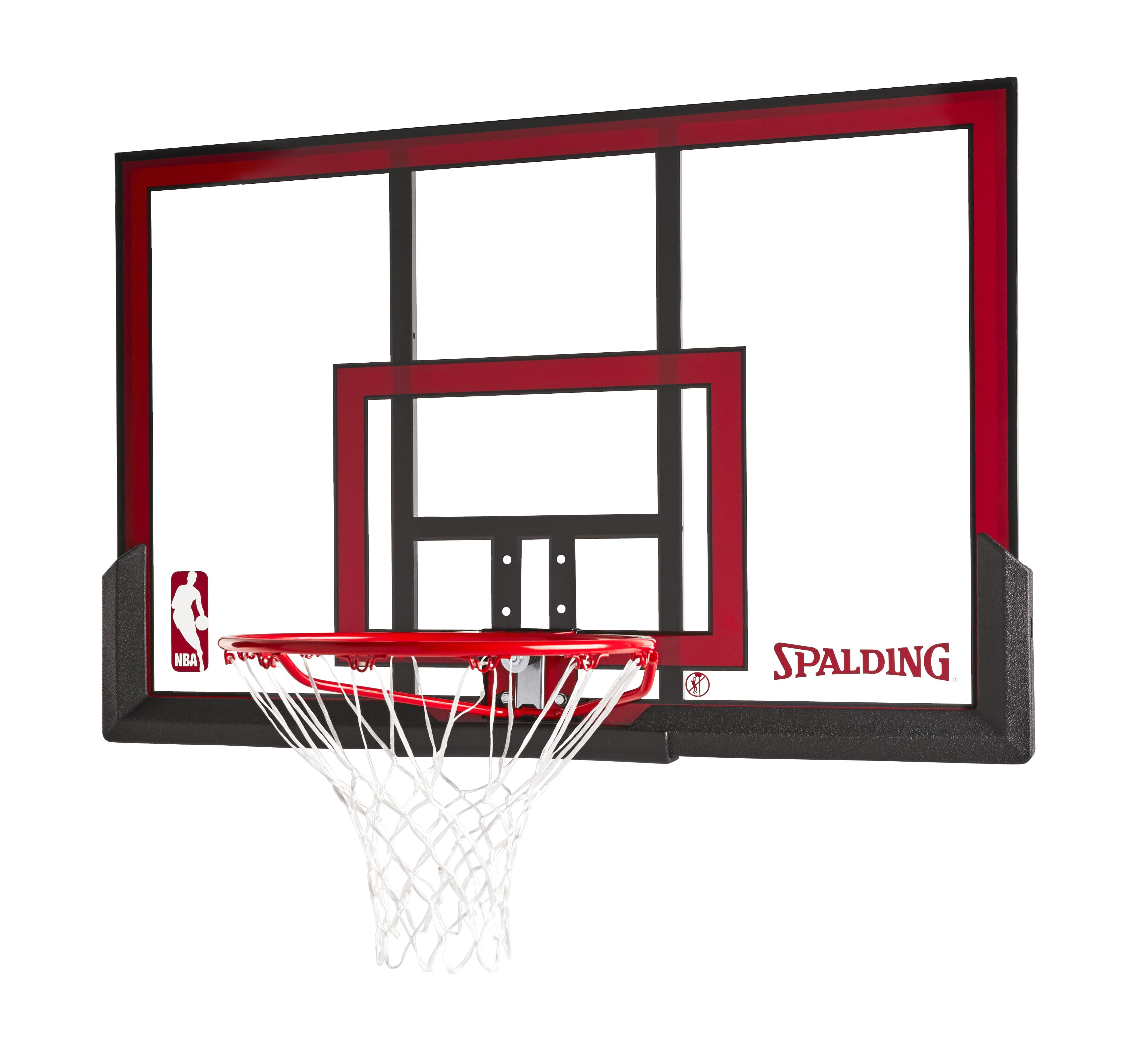 "Spalding NBA 48"" Polycarbonate Backboard Combo"