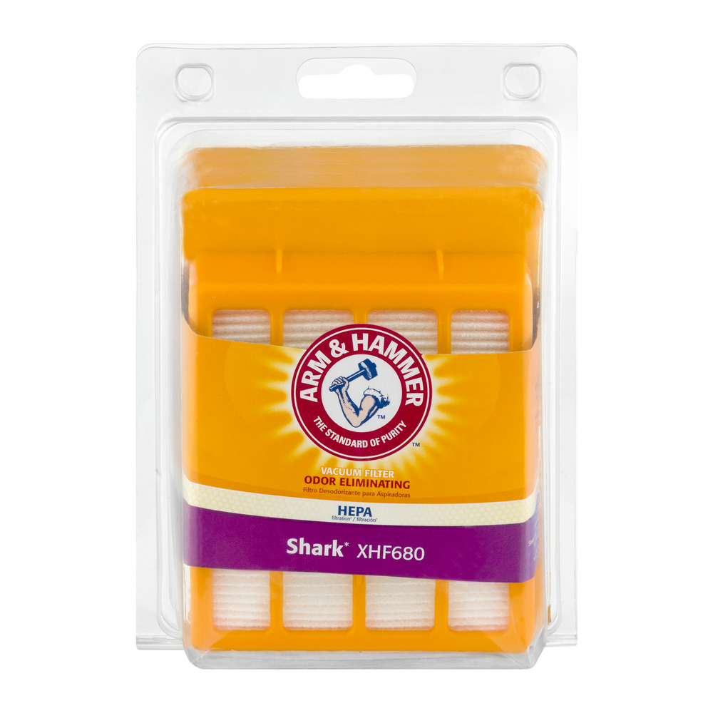 Arm & Hammer Odor Eliminating Vacuum Filter Shark XHF680, 1.0 CT