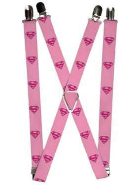 4e9fe2daa20 Product Image Superman DC Comics Superhero Pink Logo Suspenders