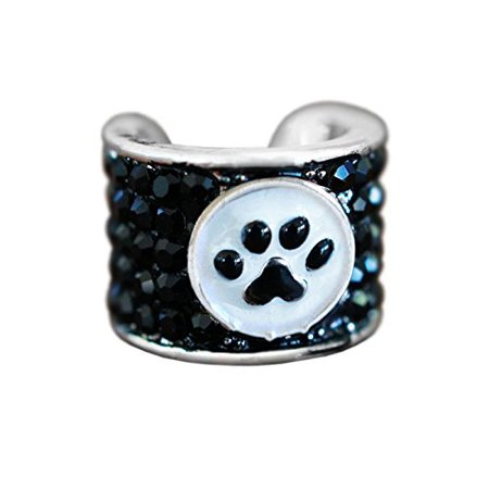 CharMED CEG-0001-PAW Crystal Stethoscope Charm, Paw (Best Stethoscope For Medical Assistant)