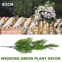 32 inch Artificial Ivy Hanging Vine Plant Leaves Garland for Christmas Wedding Party Garden Wall Decoration, 1 Pack