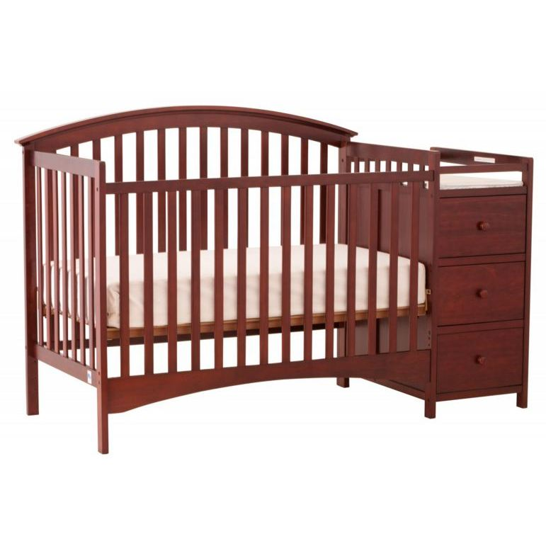 Storkcraft Bradford 4 In 1 Fixed Side Convertible Crib And
