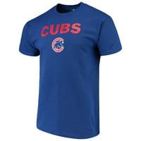 Men's Majestic Royal Chicago Cubs Bigger Series Sweep T-Shirt