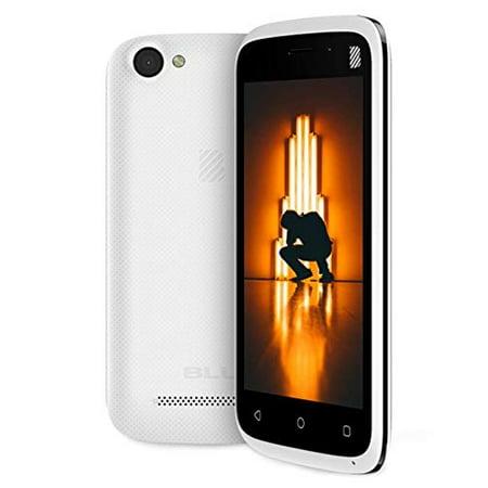 BLU Advance L4 White (8GB) 3G HSPA+ Factory GSM Unlocked Dual SIM Android 8.1 - (Blu Studio Xl Unlocked Android Phone White D850q)
