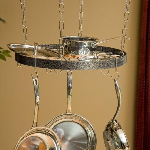 The Gourmet Round Pot Rack with Grid