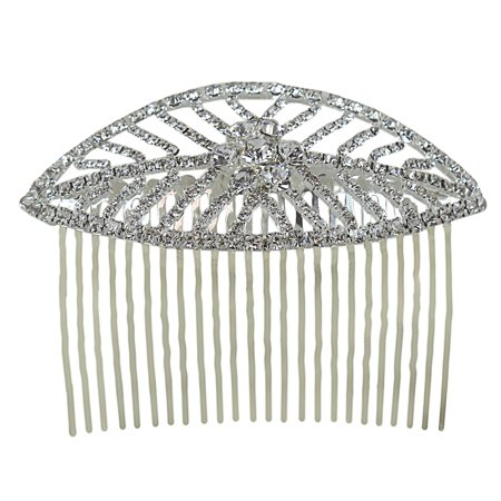 Leaf Comb - Leaf Hair Comb Crystals 3.75