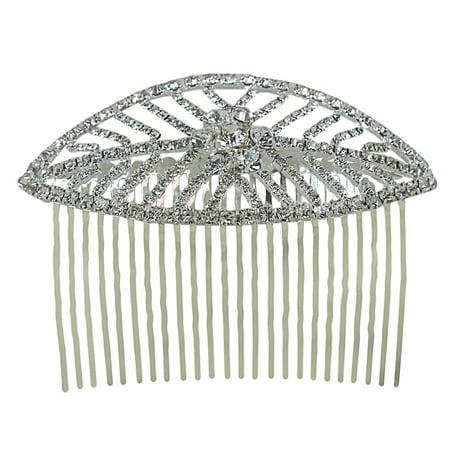 Leaf Comb - Leaf Hair Comb Crystals 3.75