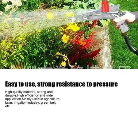 YLSHRF Garden Sprinkler,G2 FMPT 2in DN50 Aluminium Alloy Garden Sprinkler Rocking Arm Sprayer Irrigation Accessories