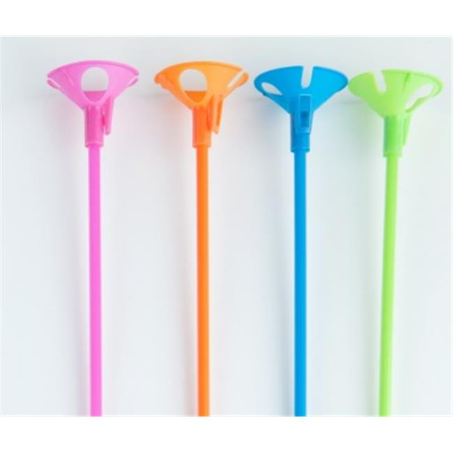 Balloons and Weights Green E-Z Balloon Cup and E-Z Balloon Stick Holders 250 Piece