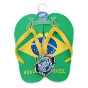 World of Sports Flip-Flops - Brazil - Large