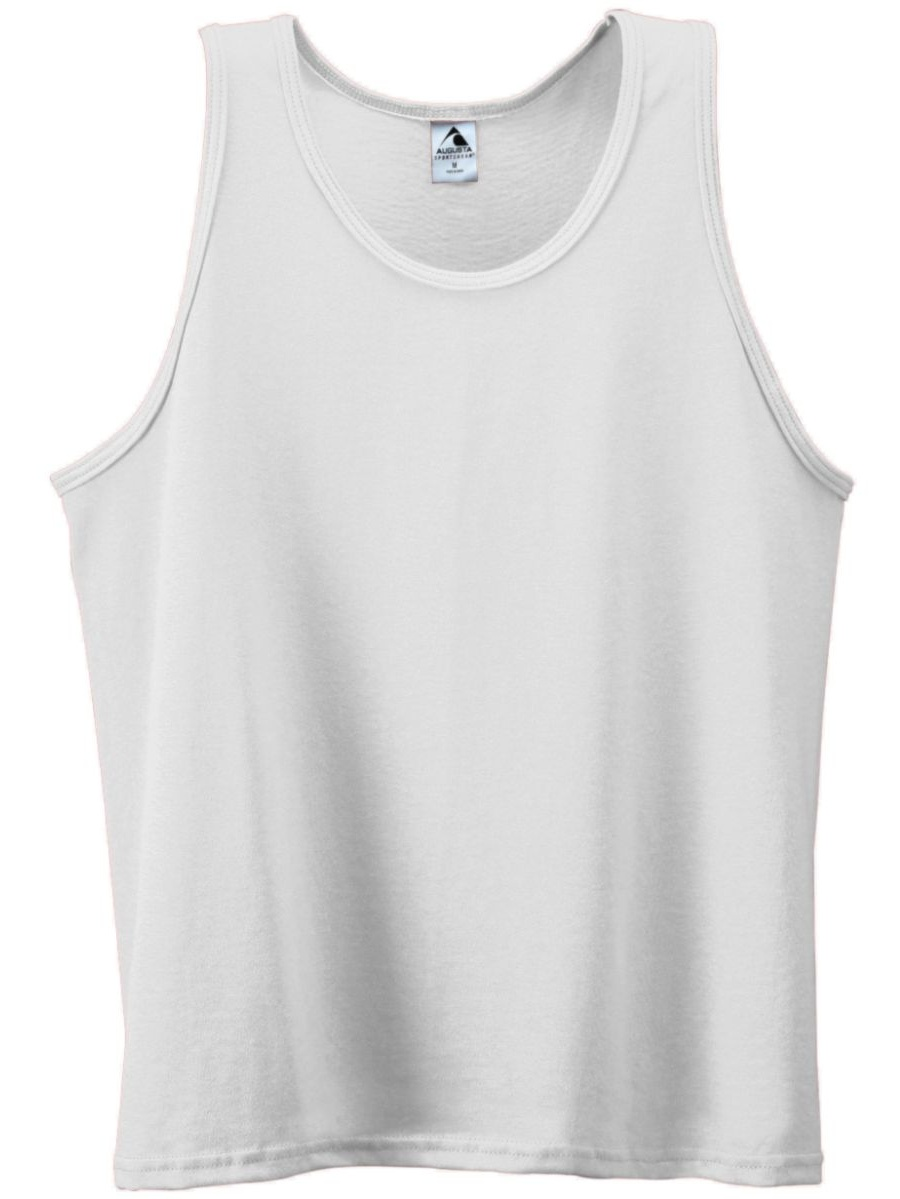 180 Poly/cotton Athletic Tank