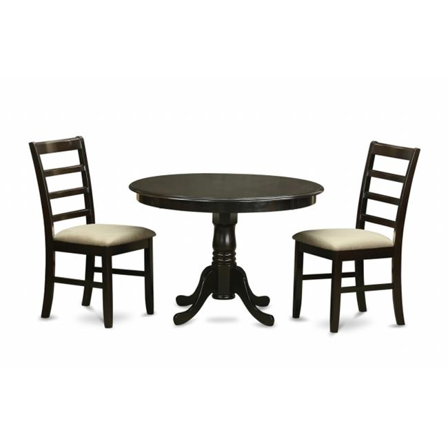 3 piece small kitchen table set dining table and 2 dinette chairs. Black Bedroom Furniture Sets. Home Design Ideas