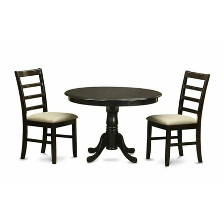 3 Piece Small Kitchen Table Set Dining Table And 2 Dinette Chairs Walmart Com Walmart Com