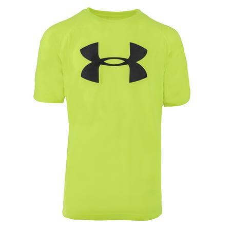 Under Armour Boys' UA Tech Big Logo S/S T-Shirt