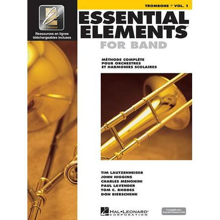 Essential Elements for Band Avec Eei : Vol. 1 - Trombone (Bass Clef) Praise Bass Clef Instruments