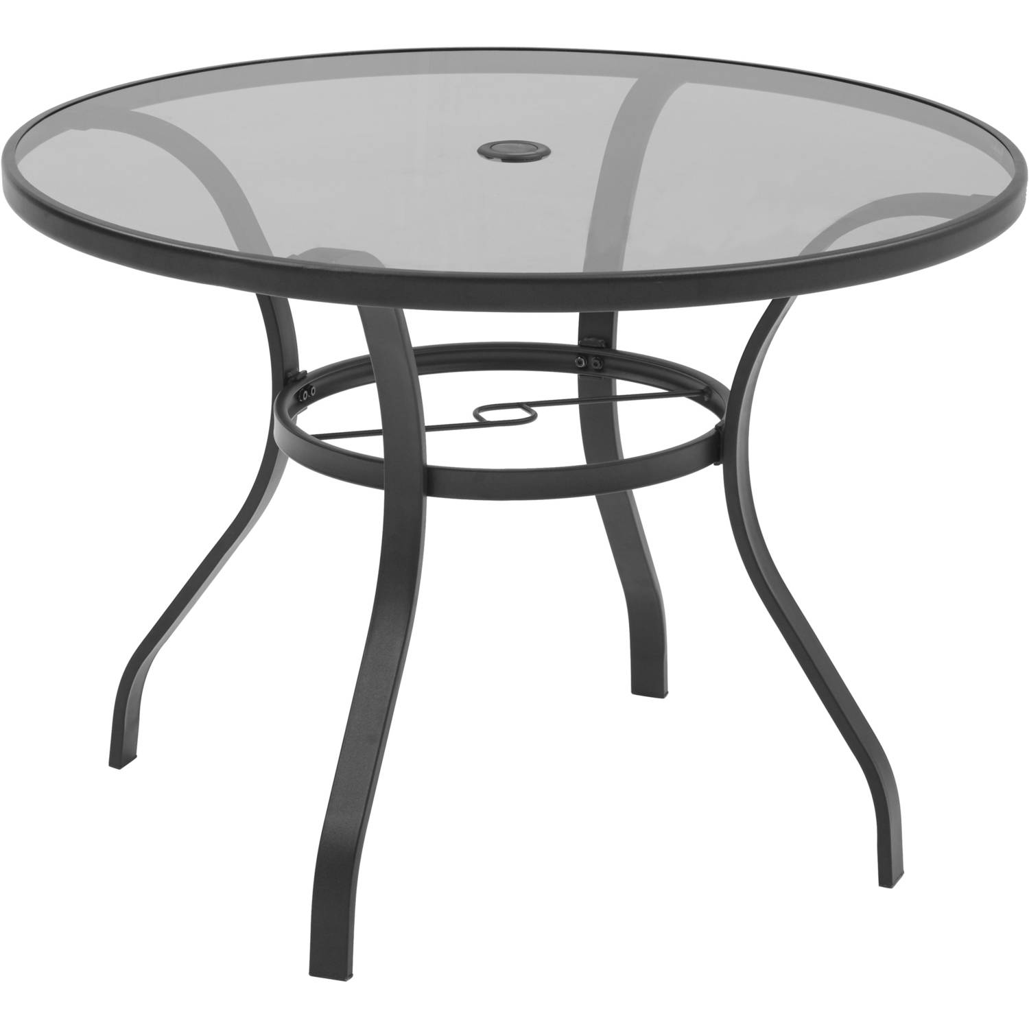 Mainstays Heritage Park Round Dining Table, Brown - Walmart.com