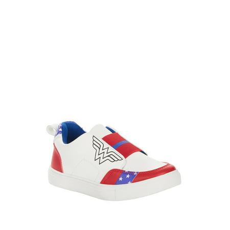 Star Wars Shoes Womens (Wonder Woman Girls' Stars and Stripes Slip-on)