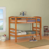 Deals on Better Homes and Gardens Leighton Twin Over Twin Wood Bunk Bed
