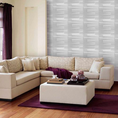 Achim Donny Osmond Home 3D Self Adhesive Wall Tiles, Logs