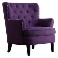 Rosevera Vasari Tufted Wingback Chair