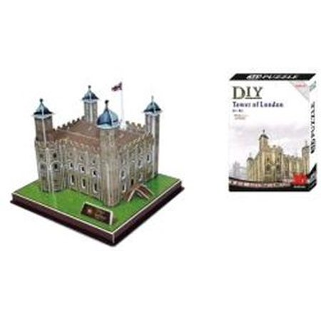 3d Tower Of London Uk United Kingdom Model Kit