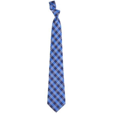 San Diego Chargers Woven Checkered Tie - Navy Blue/Powder Blue San Diego Chargers Protector