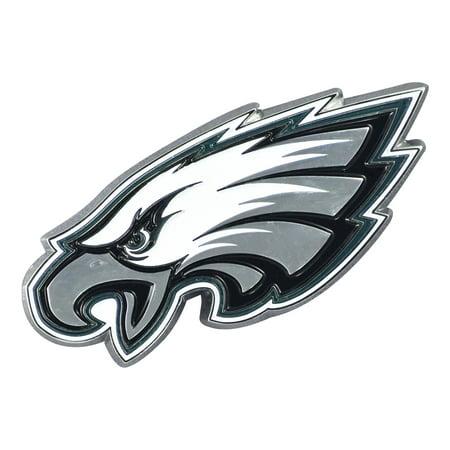 Fan Mat 22599 Emblem  NFL Philadelphia Eagles Logo; Painted; Heavy Duty Chrome - image 1 de 1
