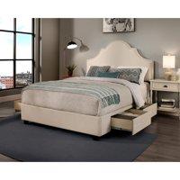 Seahawk Designs, Inc. Republic Design House Steel-Core Portman Upholstered Storage Bed 2 drawer storage