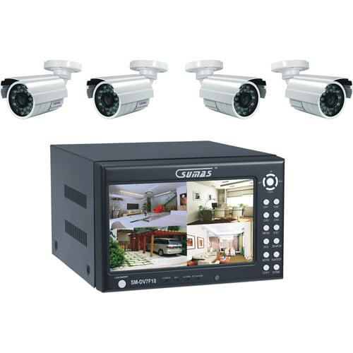 Sumas Media SM-DV7F10 4-Channel H.264 Surveillance System