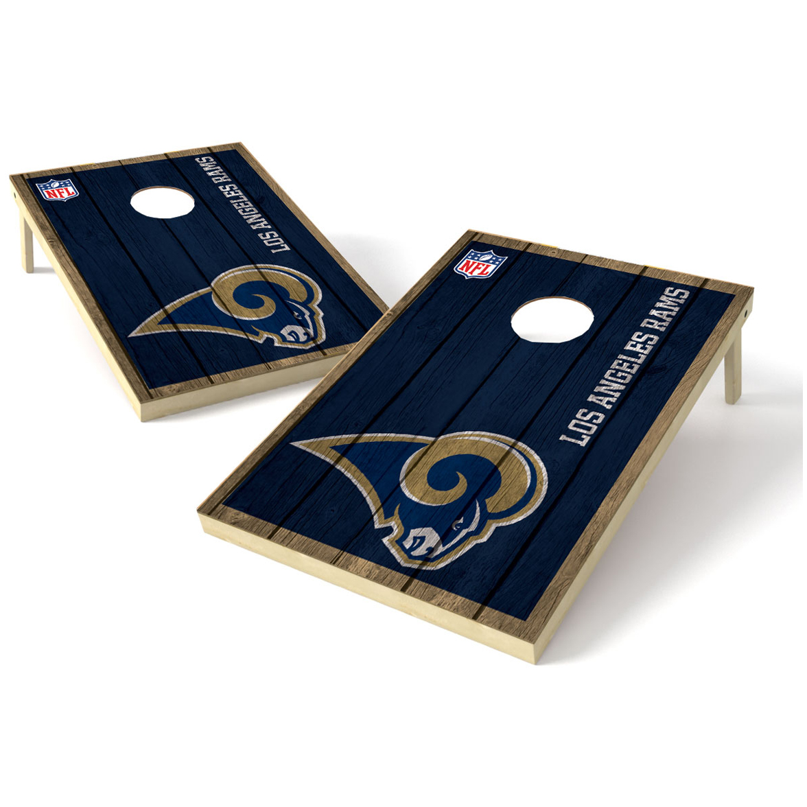 2X3 Shield Game NFL Big Vintage Los Angeles Rams