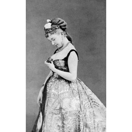 Cora Pearl C1835 1886 NnE Emma Elizabeth Crouch English Courtesan Active In France During The Second Empire Original Carte De Visite Photograph Rolled