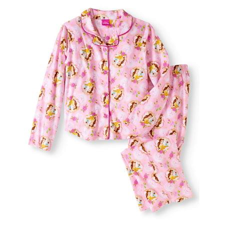 - Girl's Beauty and the Beast Coat 2 Piece Pajama Sleep Set (Big Girls & Little Girls)