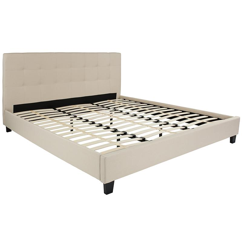 Twin Platform Bed-Light Gray - image 1 de 6