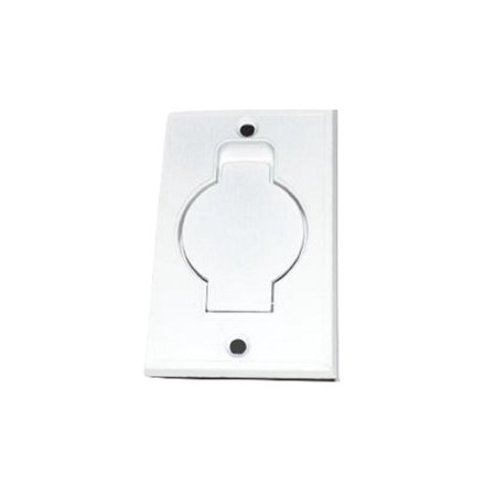 Beam, Electrolux Central Vac Inlet Valve Metal White - 015712