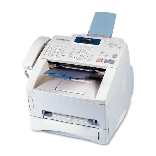 Brother IntelliFAX 4750e Laser Multifunction Printer - Monochrome - Plain Paper Print - Desktop - Copier/Fax/Printer - 1