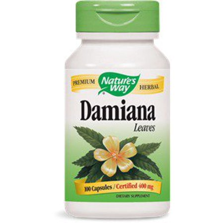Nature S Way Damiana Review