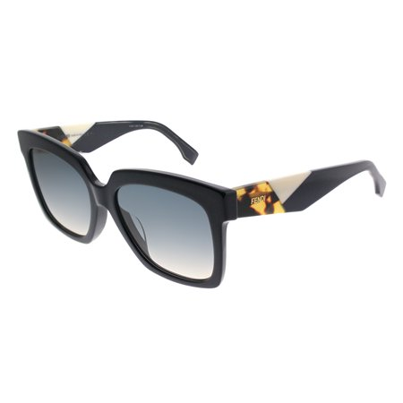 Fendi Fendi Facets FF 0284/F PJP Womens Square Sunglasses