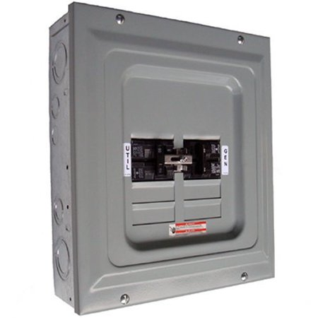 Generac 6333 60 Amp Single Load Indoor Manual Transfer (Best Transfer Switch For Generator)