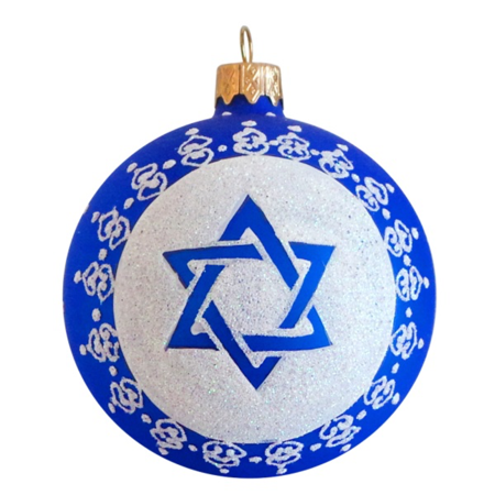 Star Of David Ornaments (3.25