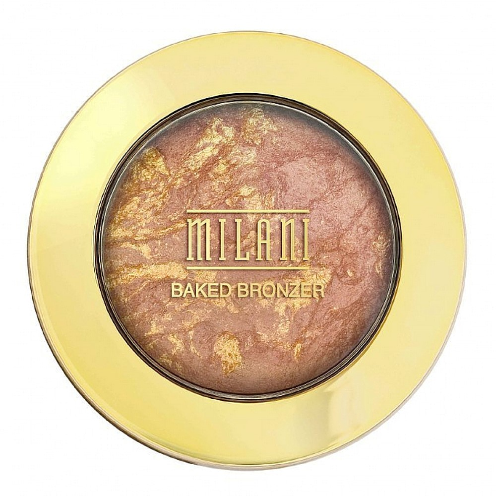 Milani Baked Bronzer, Glow [04] 0.25 oz (Pack of 3)