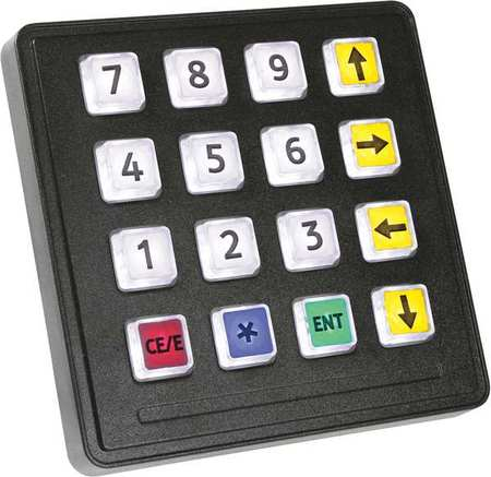 Illuminated Keypad, Storm Interface, 720 GFXI 16 KEY