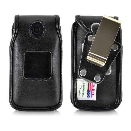 best loved 05232 21da0 Turtleback Fitted Case for Consumer Cellular Alcatel GO FLIP phone also for  ATT Cingular FLIP2 and T-mobile 4044W with Metal Heavy Duty Ratcheting ...
