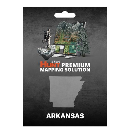 Onxmaps Hunt Arkansas   Gps Map With Hunting Land Owner Data For Garmin  Microsd Sd Card   Smartphone    Computer