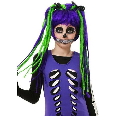 Kids Neon Dreadlock Wig](Dredlocks Wig)